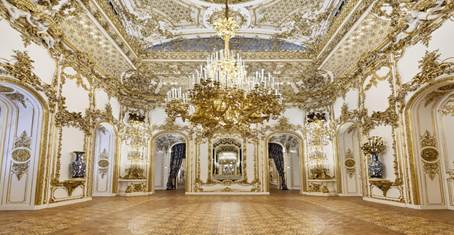 Ballroom in Liechtenstein City Palace